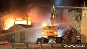 RCMP looking for help from public to locate truck at Meadow Lake arena before facility caught fire - CBC.ca