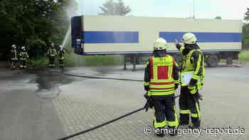 04.06.2021 – Langenfeld – Kühlaggregat brannte an einem LKW-Auflieger - Emergency-Report.de