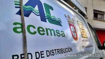 Recinto Sur, Pozo Rayo, el Sarchal y Espino se quedarán sin agua toda la tarde del lunes - Ceuta al día