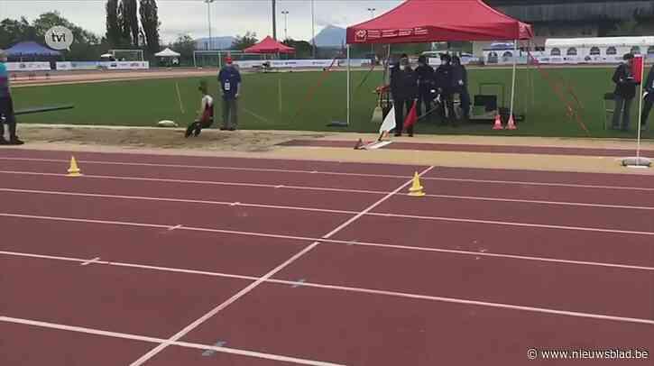 Lummense G-atlete Anke Sneyers behaalt Belgisch record