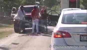 Detectan armas en retén instalado en el Pedregal - Tribuna Campeche