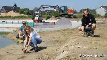 Tornesch am See: Zu 70 Prozent befüllt: Der neue Lüttensee wird bepflanzt   shz.de - shz.de