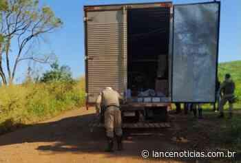 Quadrilha assalta caminhão que transportava armas, em Abelardo Luz - Lato