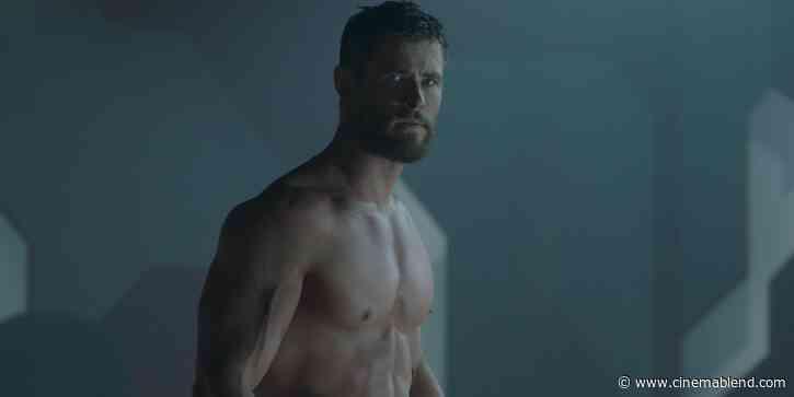 Hulk Hogan Responds To Viral Image Of Chris Hemsworth's Thor Arms Ahead Of Filming Biopic - CinemaBlend