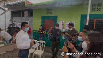 Realiza sufragio Jorge Llaven en Suchiapa - Diario de Chiapas