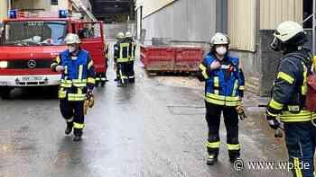 Feuerwehr Marsberg rückt aus: Der Grund für den Einsatz - Westfalenpost