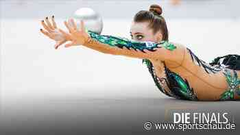 Rhythmische Sportgymnastik - das Einzel der Frauen mit dem Ball - sportschau.de