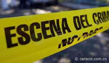 Homicidio en Villamaría se habría producido por accidente - Caracol Radio