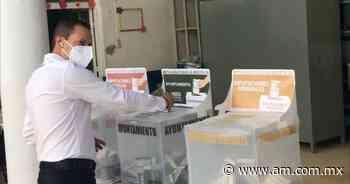 Elecciones Guanajuato 2021: Vota candidato independiente de Jaral del Progreso - Periódico AM