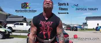 Morinville Strongman Arizona Bound for next competition - MorinvilleNews.com