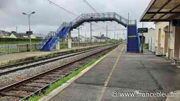 Une nouvelle passerelle, des ascenseurs, des quais remodelés : la gare d'Evron en toute sécurité - France Bleu