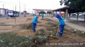 Prefeitura de Petrolina inicia cronograma de junho do 'Cidade Mais Limpa' - Blog do Didi Galvão