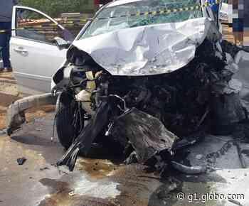 Dois jovens morrem em acidente de trânsito na BR 407 em Petrolina - G1