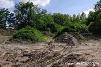 N-VA klaagt het illegaal storten van grondoverschotten in natuurgebied aan
