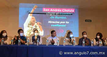 Edmundo Tlatehui se declara ganador en San Andrés Cholula - Ángulo 7