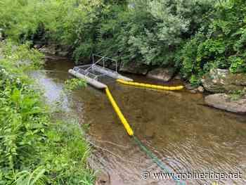 """Trash Trout"" Installed On Winkler's Creek - Go Blue Ridge"
