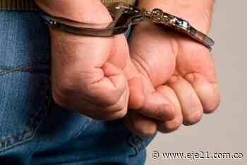 Asegurado en la cárcel presunto responsable de homicidio en La Tebaida - Eje21