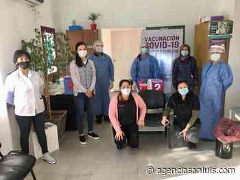 Vecinos de San Jerónimo son vacunados contra el Coronavirus este sábado - Agencia de Noticias San Luis
