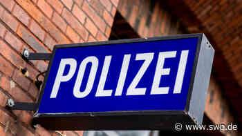 Polizei Weilheim an der Teck: Polizeiposten mit Steinen beworfen - SWP