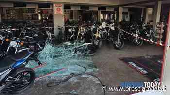 Colpo grosso alla concessionaria delle moto: banditi in fuga con 50.000 euro - BresciaToday