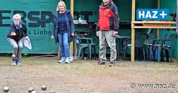 Barsinghausen: BTV startet wieder mit dem Tennis- und Boule - Hannoversche Allgemeine