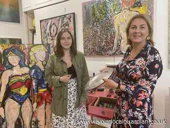 Inside the new art gallery making waves in Colliers Wood