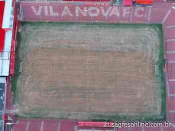 Vila Nova inicia revitalização do gramado no Onésio Brasileiro Alvarenga - Sagres Online - Sagres Online