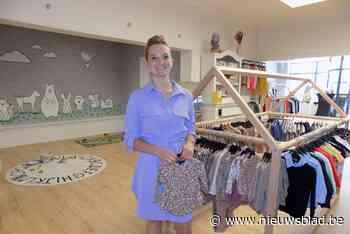 Shanty opent eigen kinderkledingwinkel in voormalige interieurzaak - Het Nieuwsblad