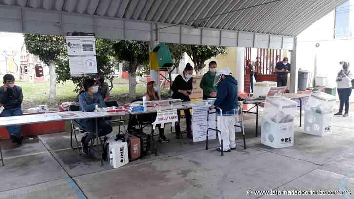 Atlixco cierra sin contratiempos la jornada electoral - Puebla - - La Jornada de Oriente