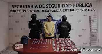 """Cae narcomenudista de """"Los Angelinos 13"""" en colonia de Atlixco - Ángulo 7"""