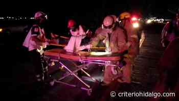 Atropellan a joven sobre la Pachuca-Sahagún; resultó con lesiones en el cráneo - Criterio Hidalgo