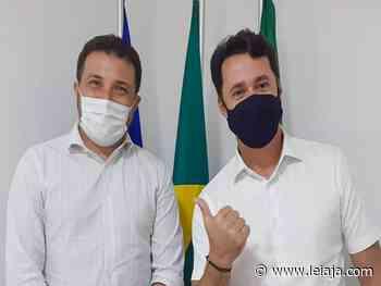 Anderson Ferreira se reúne com prefeito de Abreu e Lima - LeiaJá