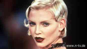 """""""Glamour à la Dietrich"""": Nadja Auermann - die blonde Eiskönigin - n-tv.de - n-tv NACHRICHTEN"""