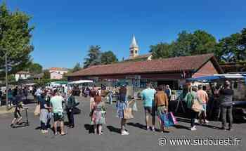 Landes : comment le marché de Saint-Perdon se fait sa place une fois par mois - Sud Ouest