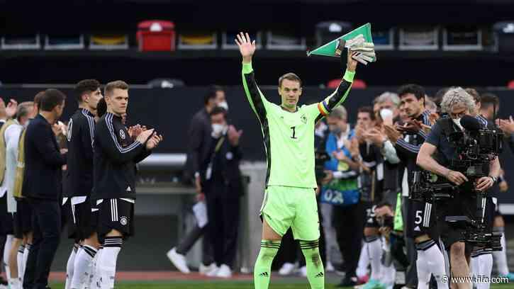 World-class Neuer reaches historic milestone
