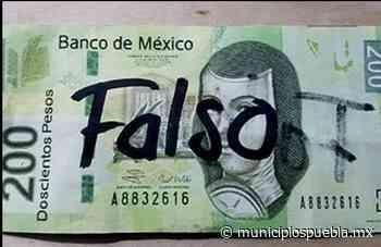 Ofrecen venta de billetes falsos en grupos de Facebook de Atlixco - Municipios Puebla