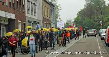 Kerkrade/Herzogenrath: Protestzug von Maßnahmengegnern dieses Mal wesentlich kleiner - Aachener Nachrichten