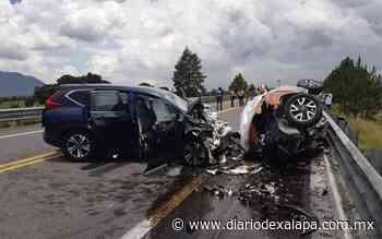Cinco muertos tras aparatoso accidente en autopista Amozoc-Perote - Diario de Xalapa