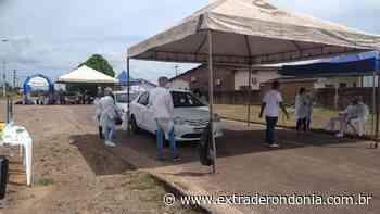 Jhony Paixão acompanha testagem rápida de Covid-19 em Alvorada do Oeste – Extraderondonia.com.br - Extra de Rondônia