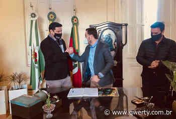Junior Rodrigues Assume interinamente prefeitura de Dom Pedrito - Qwerty Portal