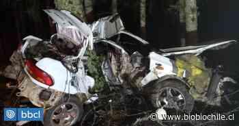 Conductor sobrevive a grave accidente en ruta de Villarrica a Pucón: auto quedó con pérdida total - BioBioChile