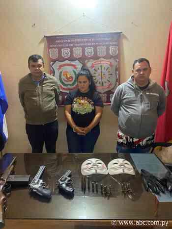 Detienen a presuntos asaltantes en Villarrica - Nacionales - ABC Color