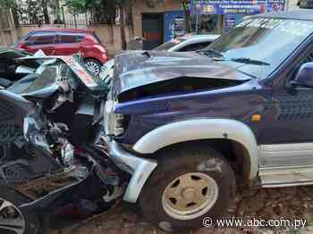 Concejal alcoholizado protagonizó accidente de tránsito en Villarrica - Nacionales - ABC Color