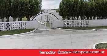 Robaron en el cementerio de El Calafate - Tiempo Sur