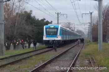 El tren arrolló a un adolescente en calle 1 de Berazategui - Perspectiva Sur