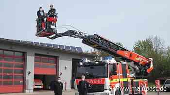 Hammelburg Feuerwehr Hammelburg: Neue Drehleiter mit vielen Besonderheiten - Main-Post