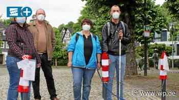Bad Berleburg: Rot-weiße Mützen für mehr Sichtbarkeit - Westfalenpost