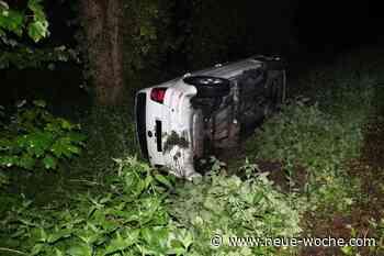 Alkohol: Autofahrt endet im Graben » Rinteln - neue Woche