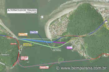 Licitação da Ponte de Guaratuba tem resultado homologado - Bem Paraná - Bem Paraná