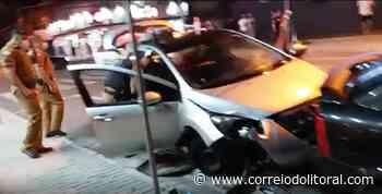 Em Guaratuba, motorista embriagado é detido depois de tentar fugir - Correio do Litoral